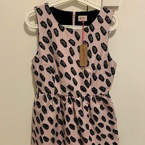 GORMAN Wild Life Dress, Pink Leopard Print, Size10